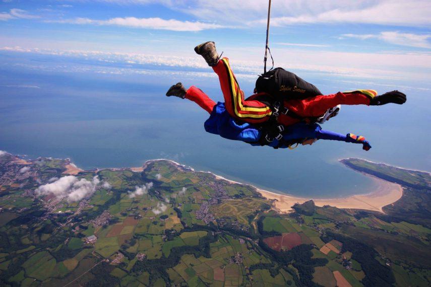 Sky Dive Swansea