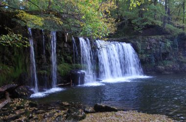 Where in Wales is Waterfall Country?