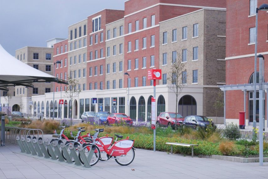 Santander Cycles – Bay Campus Hub